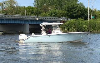 Saugy Dollar Charters on the Kalamazoo River in Saugatuck / Douglas